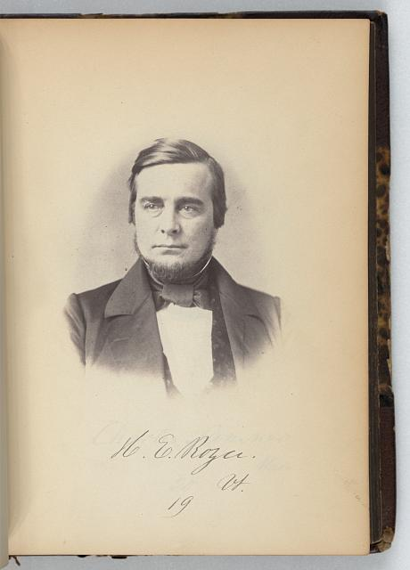 [Homer E. Royce, Representative from Vermont, Thirty-fifth Congress, half-length portrait]