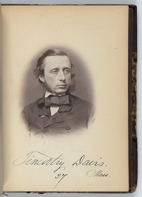 [Timothy Davis, Representative from Massachusetts, Thirty-fifth Congress, half-length portrait]