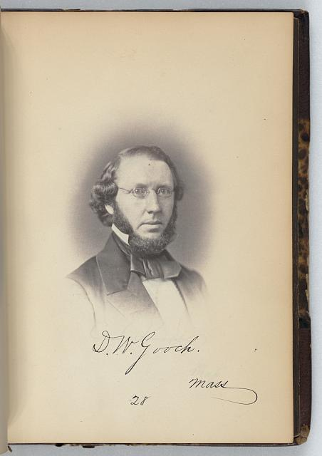 [Daniel W. Gooch, Representative from Massachusetts, Thirty-fifth Congress, half-length portrait]