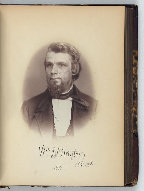 [William D. Brayton, Representative from Rhode Island, Thirty-fifth Congress, half-length portrait]