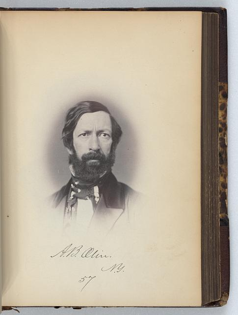 [Abram B. Olin, Representative from New York, Thirty-fifth Congress, half-length portrait]