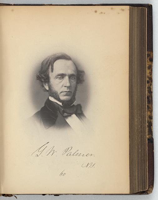[George W. Palmer, Representative from New York, Thirty-fifth Congress, half-length portrait]