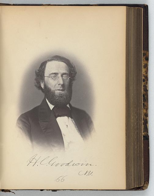[Henry C. Goodwin, Representative from New York, Thirty-fifth Congress, half-length portrait]