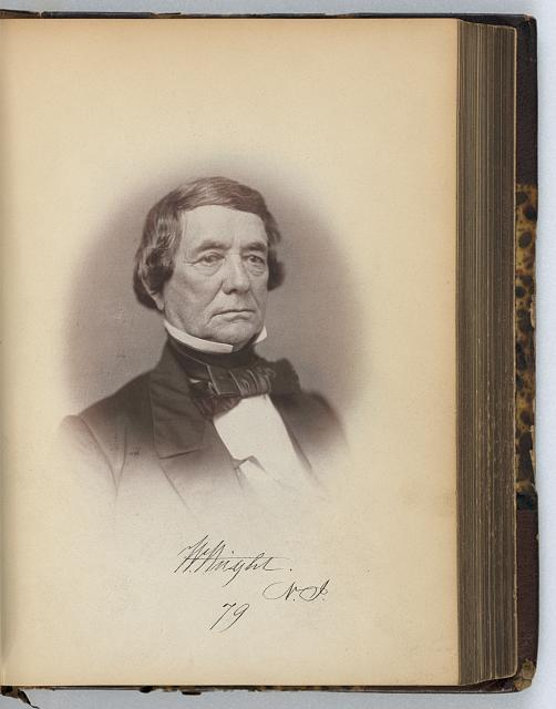 [William Wright, Senator from New Jersey, Thirty-fifth Congress, half-length portrait]