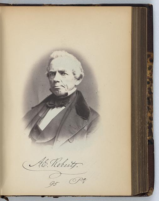 [Anthony E. Roberts, Representative from Pennsylvania, Thirty-fifth Congress, half-length portrait]