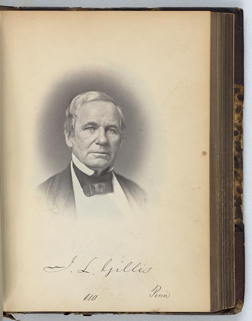 [James L. Gillis, Representative from Pennsylvania, Thirty-fifth Congress, half-length portrait]