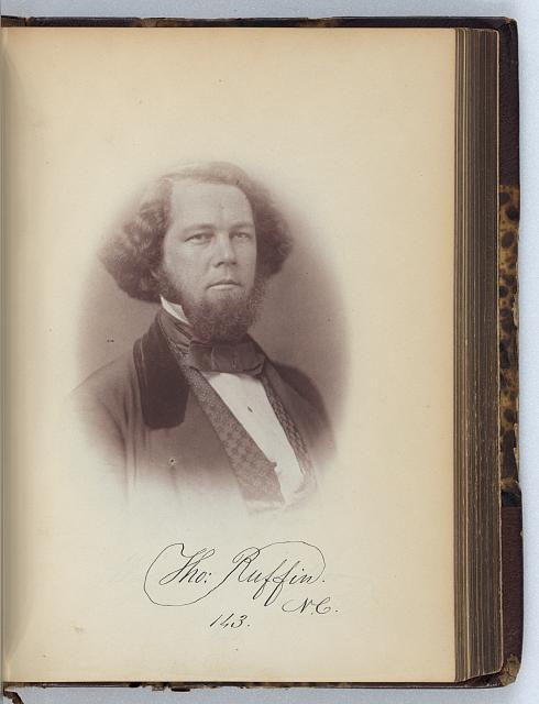 [Thomas Ruffin, Representative from North Carolina, Thirty-fifth Congress, half-length portrait]