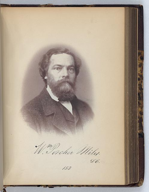 [W. Porcher Miles, Representative from South Carolina, Thirty-fifth Congress, half-length portrait]