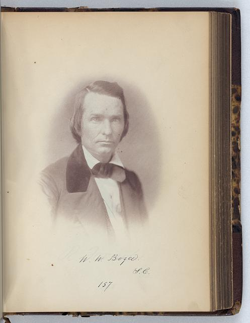 [William W. Boyce, Representative from South Carolina, Thirty-fifth Congress, half-length portrait]