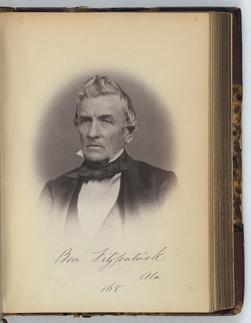 [Benjamin Fitzpatrick, Senator from Alabama, Thirty-fifth Congress, half-length portrait]