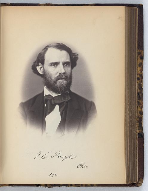 [George E. Pugh, Senator from Ohio, Thirty-fifth Congress, half-length portrait]