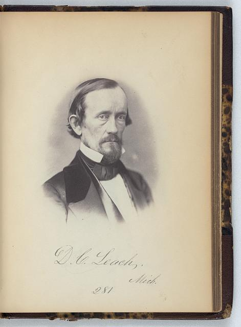 [DeWitt C. Leach, Representative from Michigan, Thirty-fifth Congress, half-length portrait]