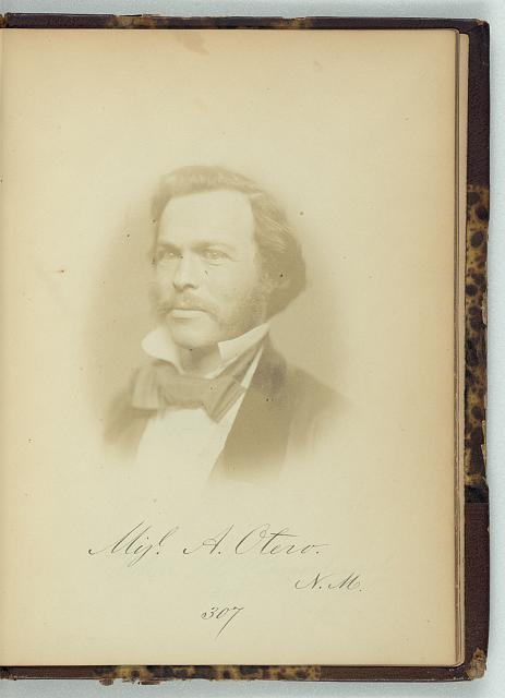 [Miguel T. Otero, Representative from New Mexico, Thirty-fifth Congress, half-length portrait]