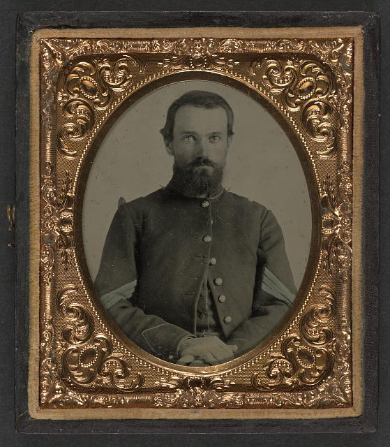 [Unidentified soldier in Union sergeant's uniform]