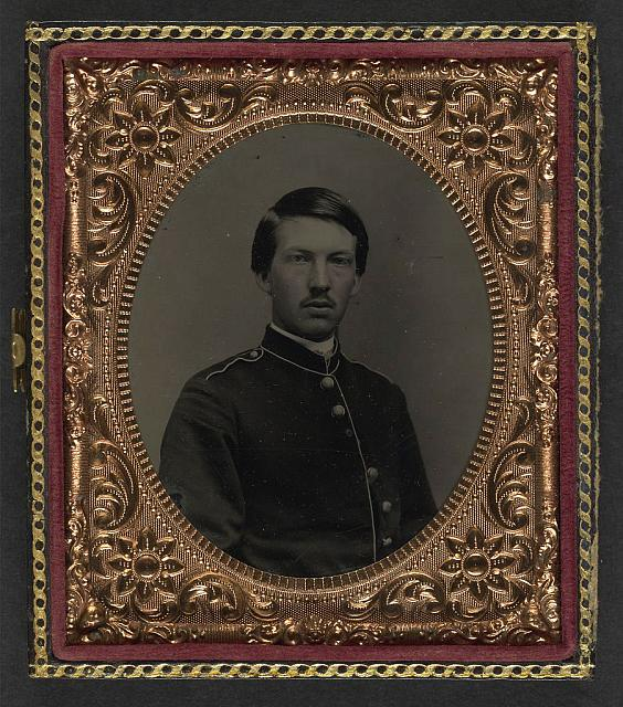 [Unidentified soldier in Union uniform]