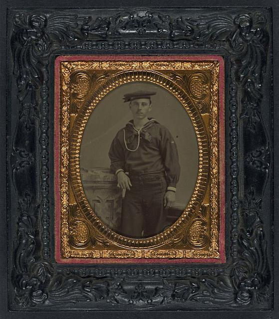 [Unidentified sailor in Union uniform]
