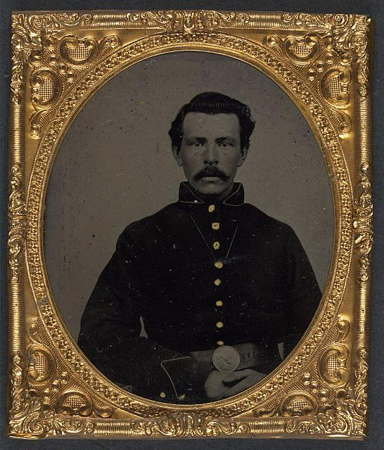 [Unidentified soldier in Union uniform ]