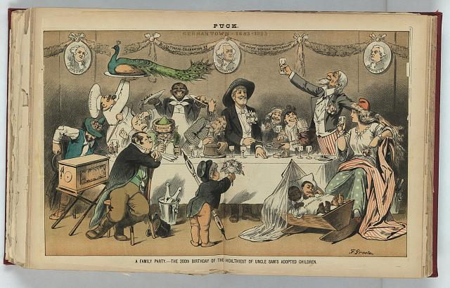 A family party - the 200th birthday of the healthiest of Uncle Sam's adopted children
