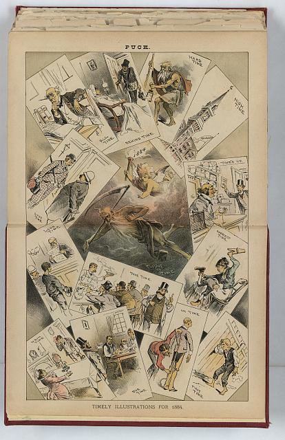 Timely illustrations for 1884