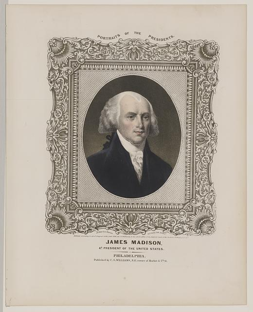 James Madison - 4th President of the United States