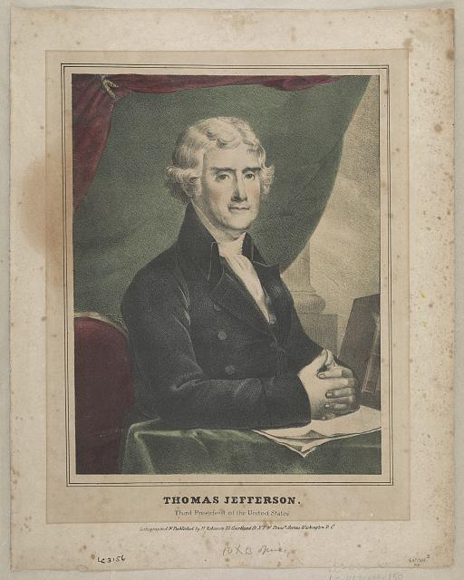 Thomas Jefferson--Third president of the United States