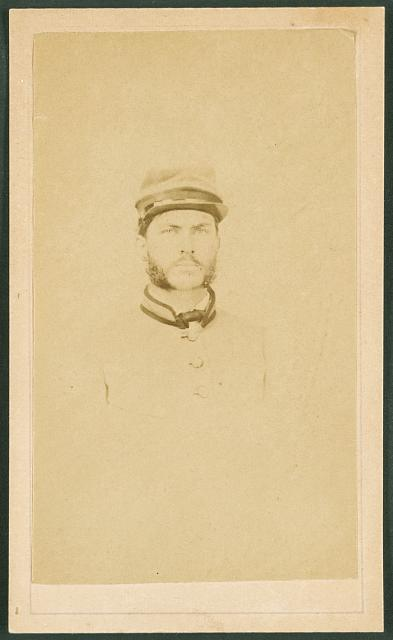 [Private R. Cecil Johnson of 8th Georgia Infantry Regiment and South Carolina Hampton Legion Cavalry Battalion in uniform]