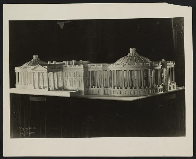 [Alterations to the Executive Mansion, for Mrs. Benjamin Harrison, Pennsylvania Avenue, N.W., Washington, D.C. Photograph of model]