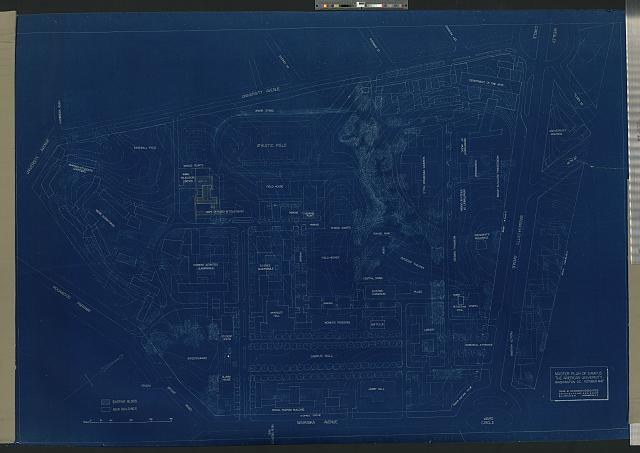 [American University, Washington, D.C. Site plan (project)]