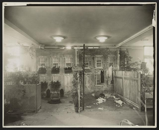 [City Gardens Club of New York City Exhibition at the International Flower Show, March, 1921, Grand Central Palace, New York]