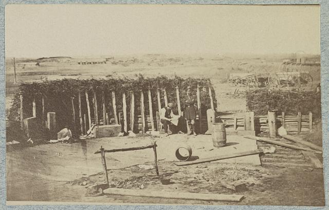 Confederate fortifications, Manassas, Va. March 1862