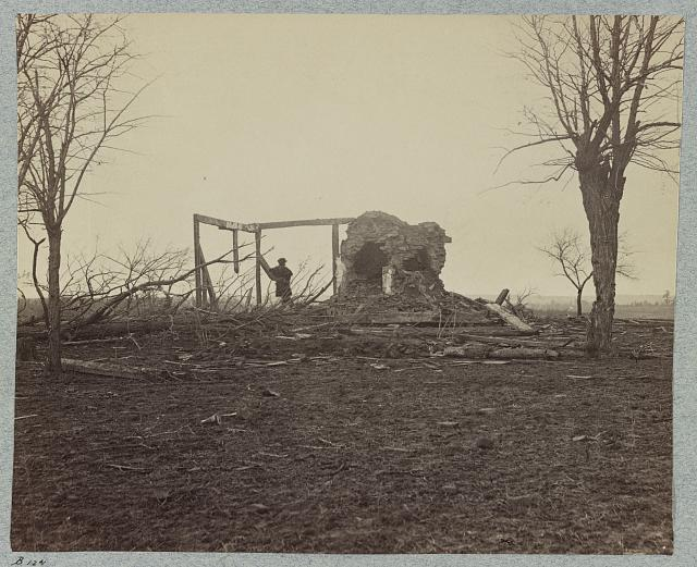 Battlefield of Bull Run, ruins of Henry house