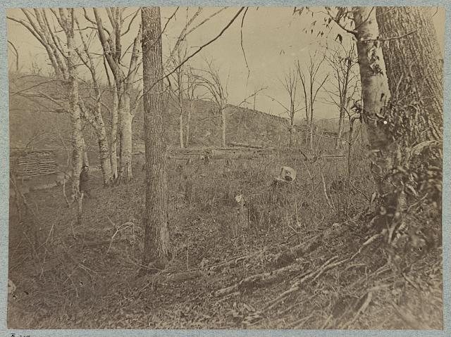 View on Bull Run. March, August 1862