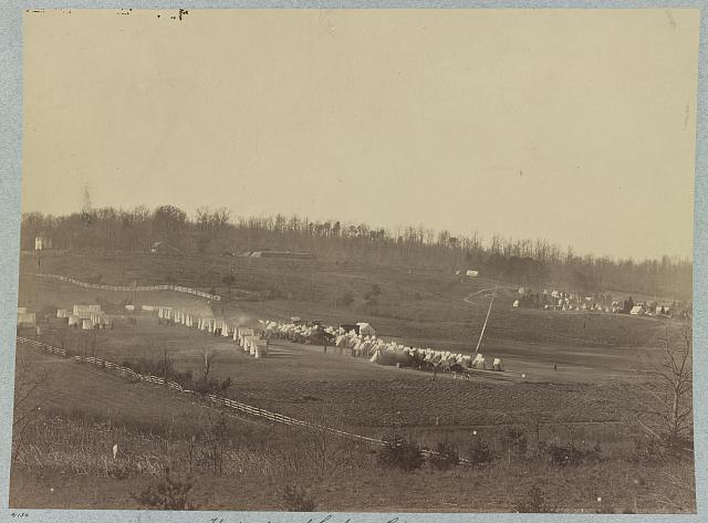 Headquarters of Grahams Brigade and Camp of 31st Pennsylvania Infantry