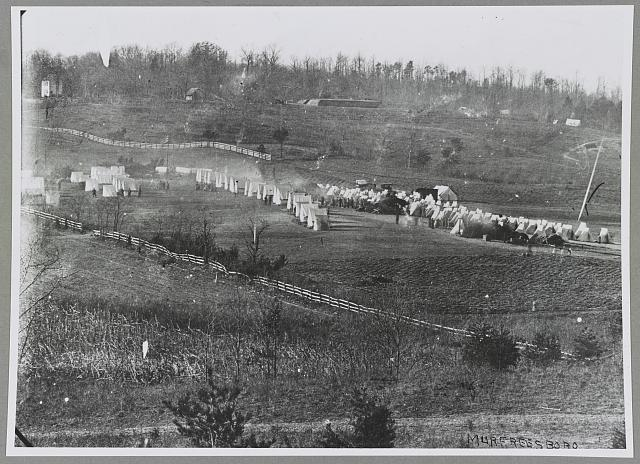 Camp of 31st Regt. Pa. Vols. hdq. General Graham's Brigade