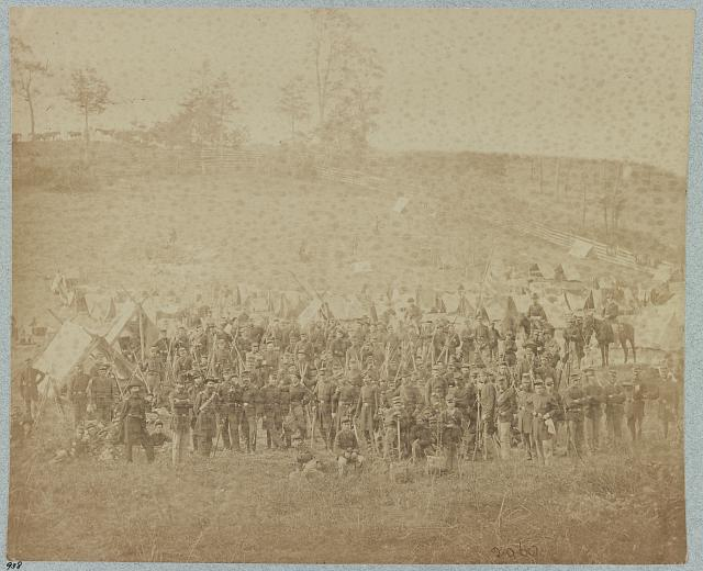 93d New York Infantry, Antietam, Md, Sept., 1862 (i.e. Oct. 4, 1862)