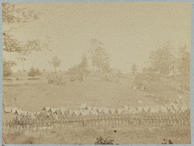 93d New York Infantry, Antietam, Md, Sept., 1862