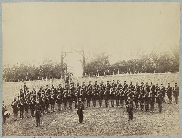 Co. K, 6th Vermont Infantry - Camp Griffin, Va.