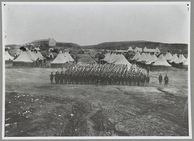 Camp Jameson, near Washington, D.C. 2nd Rhode Island Infantry