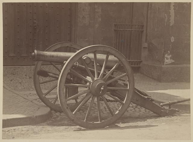 The Gettysburg gun, and veterans of Battery B,