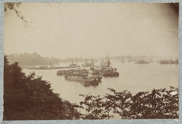 Views at Belle Plain Landing, Va., May, 1864