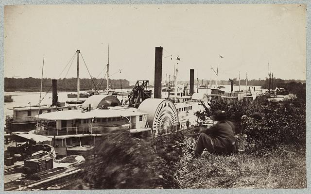 Steamship Planter, White House Landing, Pamunkey River