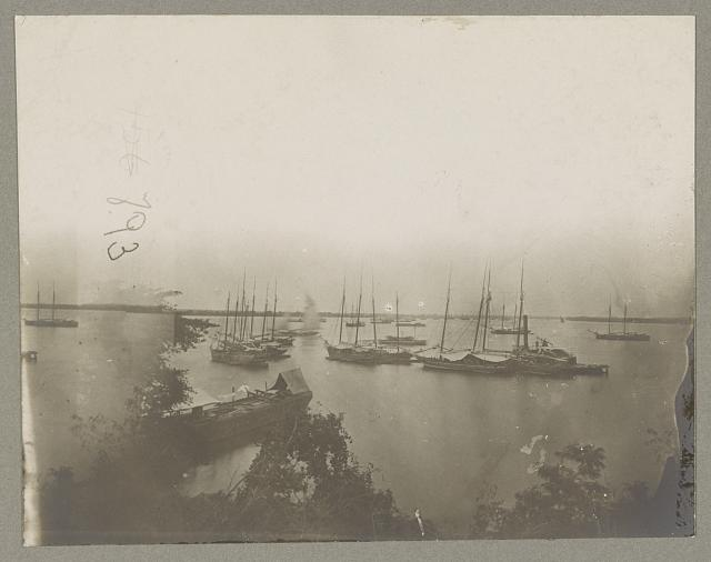 View on James River, in front of City Point, Va., July 5, 1864