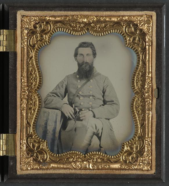 [Captain Joel Houghton Abbott of Co. K, 22nd Virginia Infantry Regiment, and Co. H, 8th Virginia Cavalry Regiment]