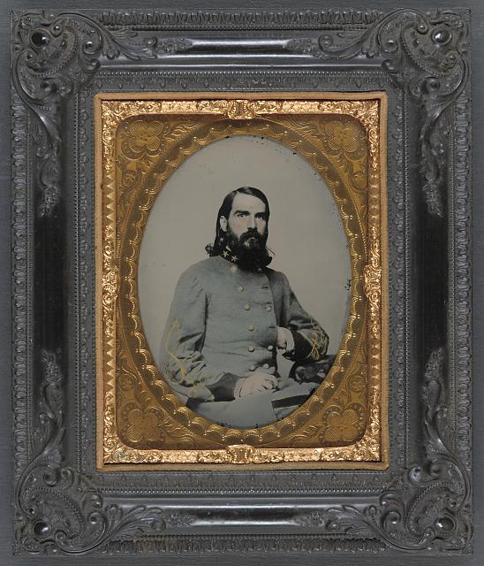 [Unidentified officer in the Confederate Medical Corps]