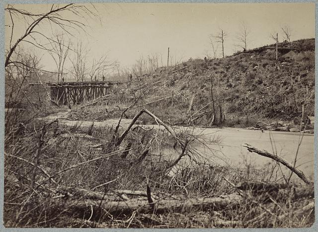 Bull Run bridge, March, 1863