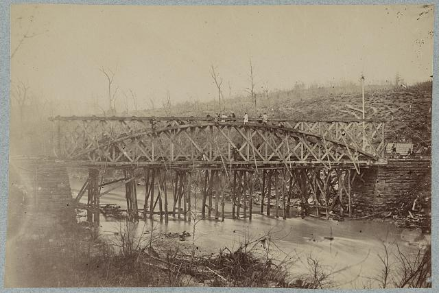 R. R. (i.e. Railroad) bridge across Bull Run. O. &amp; A. R.R.