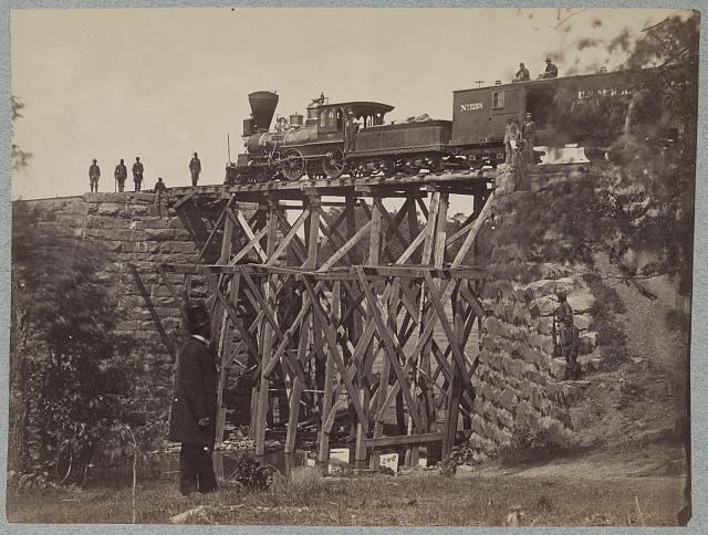 Bridge on Orange & Alexandria Railroad
