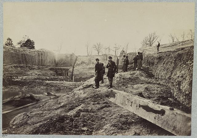 Dutch Gap Canal, James River, Va., November, 1864