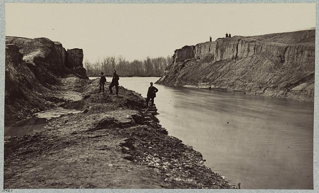 Dutch Gap Canal, James River, Va., April, 1865