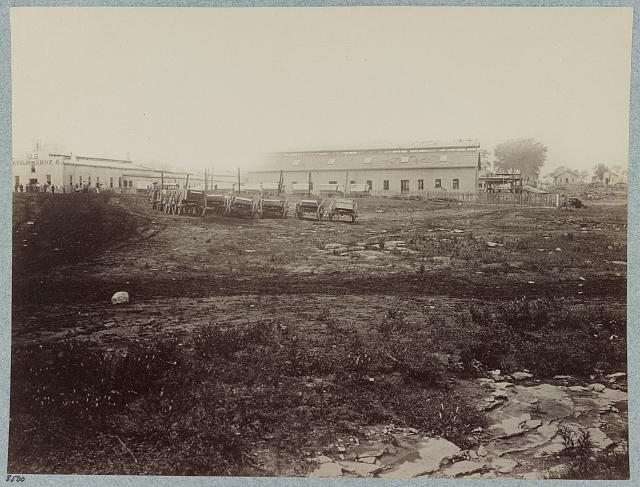 U.S. Quartermaster's repair shops on Franklin Turnpike, Nashville, Tenn., March, 1864